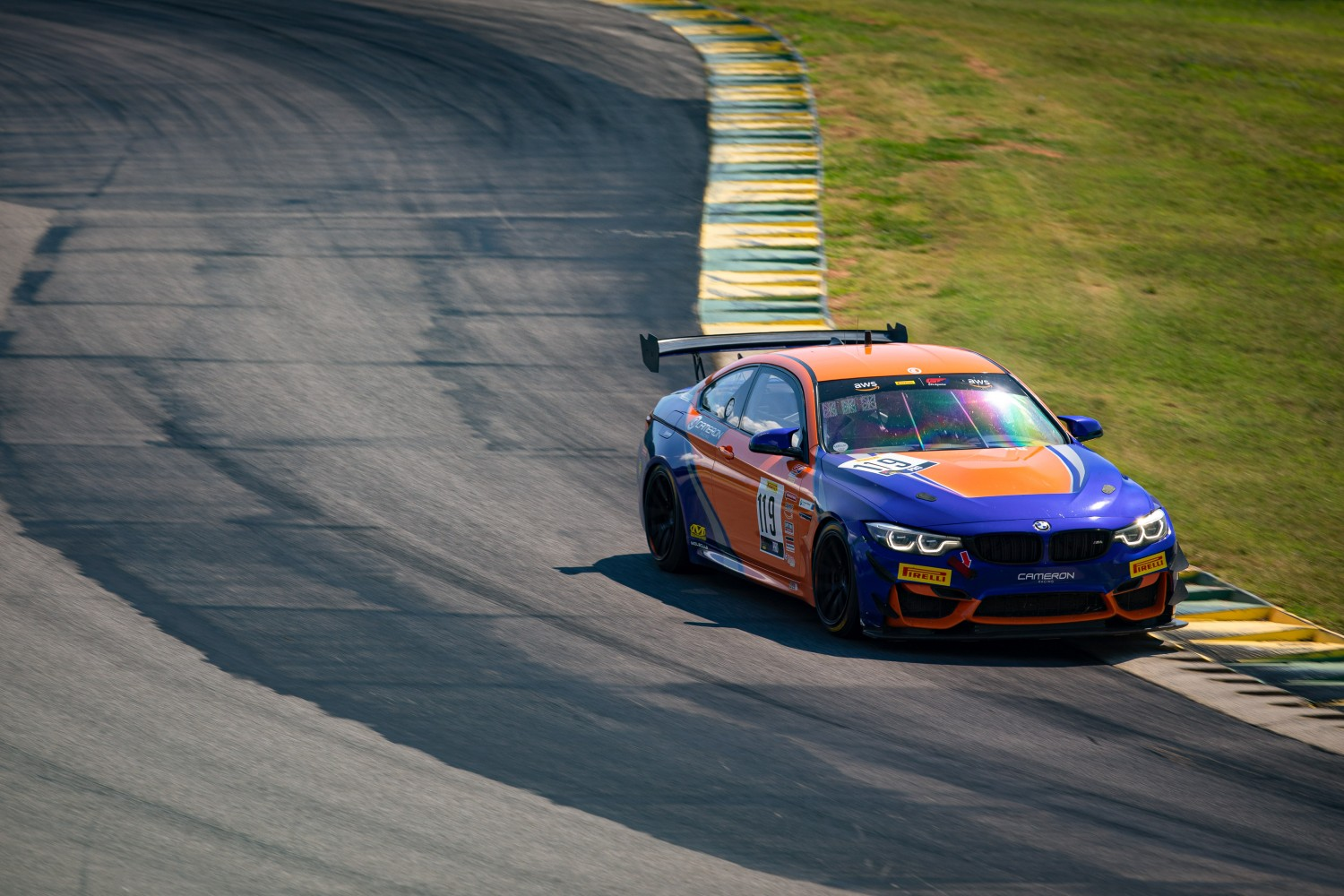 #119 GT4 Sprint, Am, Stephen Cameron Racing, Sean Quinlan, BMW M4 GT4\, SRO VIR 2020, Alton VA