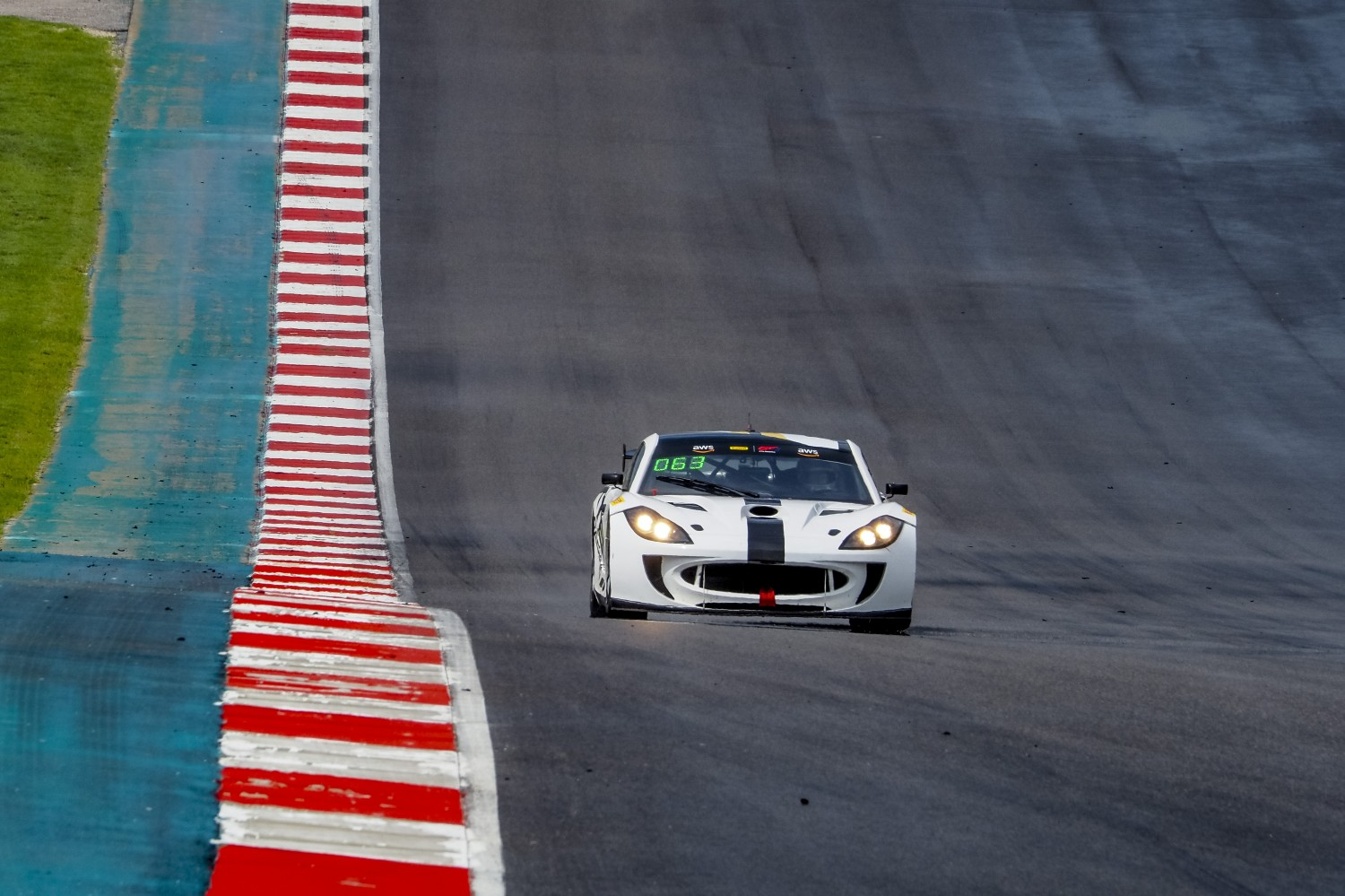 #63 Ginetta G55 of Ben Anderdson and Ryan Dexter, Dexter Racing, GT4 SprintX, SRO America, Circuit of the Americas, Austin TX, September 2020.  | Brian Cleary/SRO