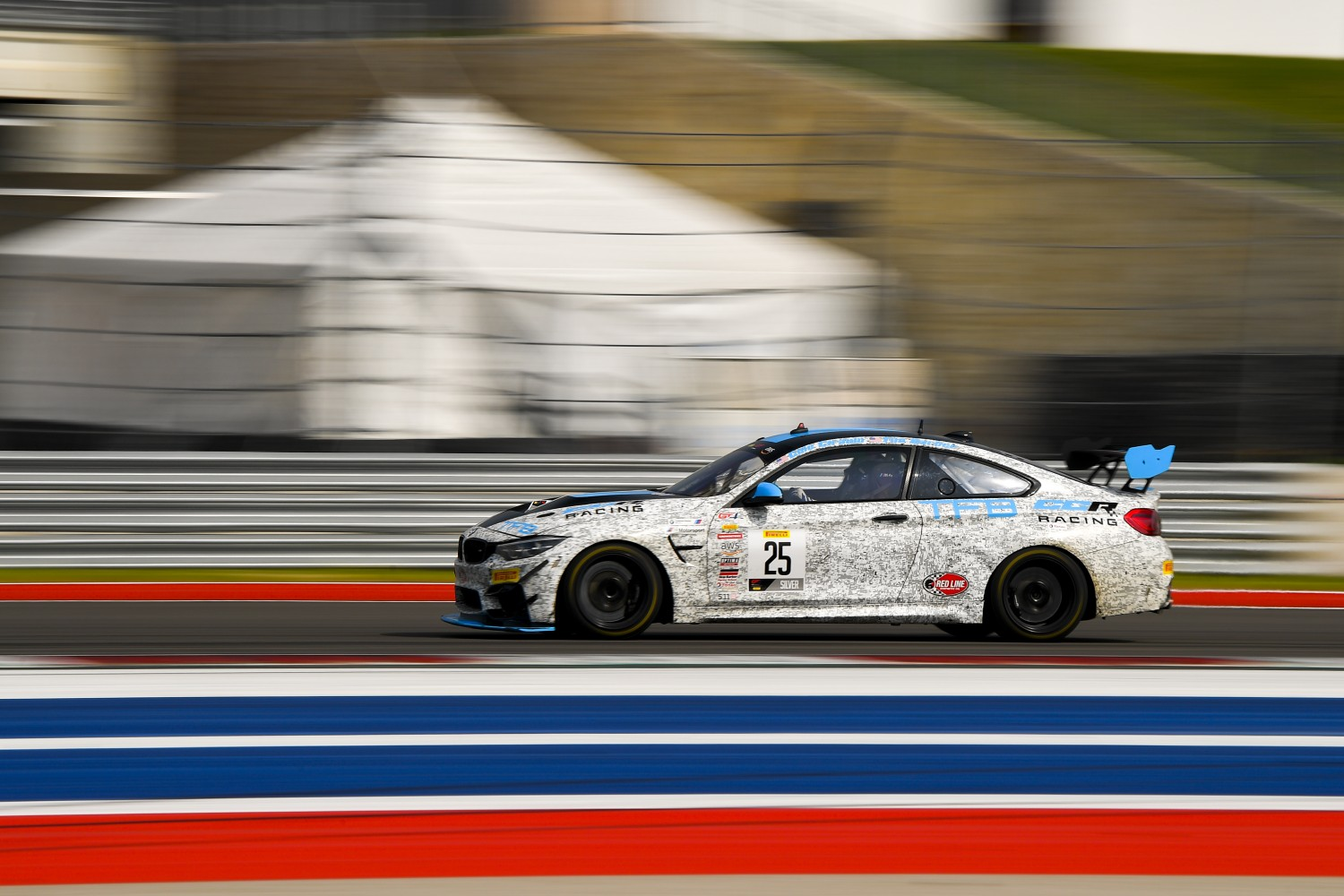 #25 BMW M4 GT4 of Cole Ciraulo and Tim Barber,CCR Team TFB, GT4 SprintX,      2020 SRO Motorsports Group - COTA2, Austin TX Photographer: Gavin Baker/SRO | © 2020 Gavin Baker