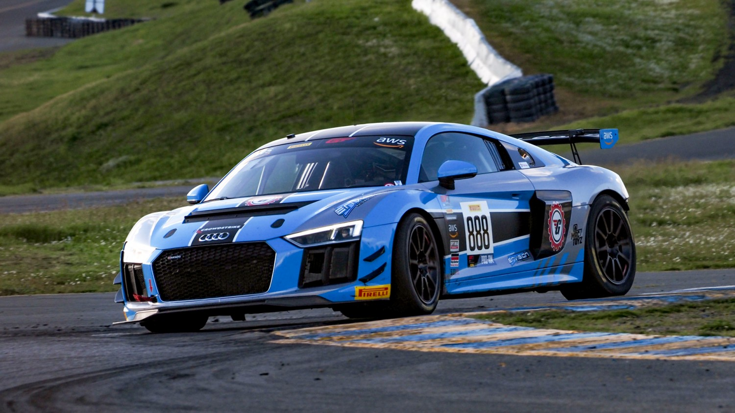 Rearden Racing Scores Podium Finishes with New Lamborghini Cars; Burton, Novikov Take Seconds, Thirds in GT America Sprint at Sonoma