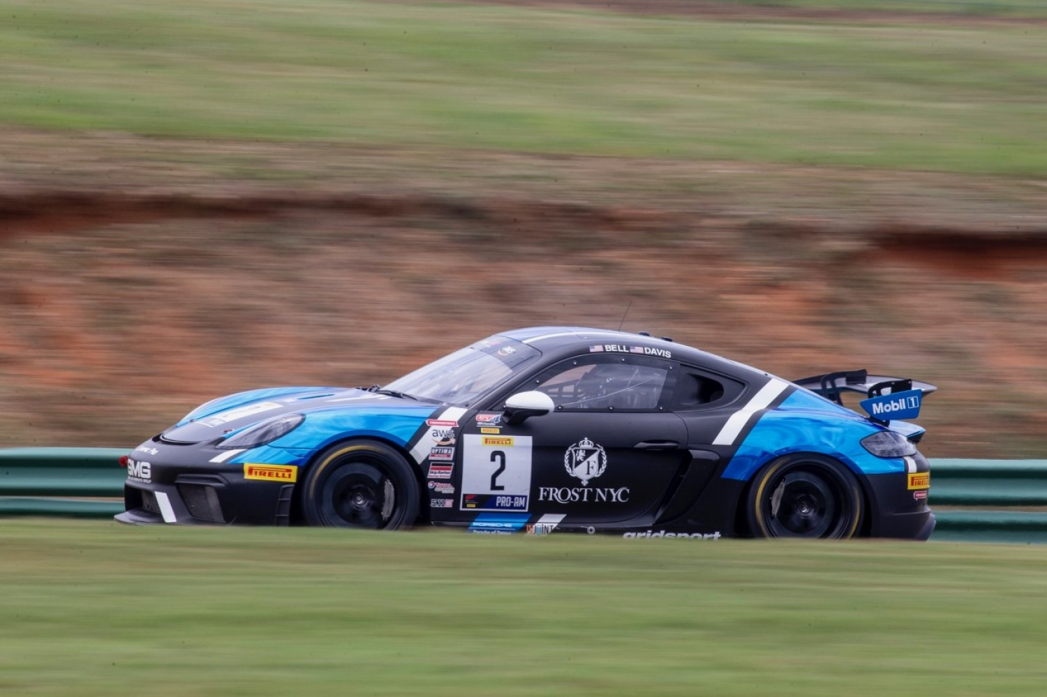 Davis Tops Charts in First Pirelli GT4 America Practice at VIR