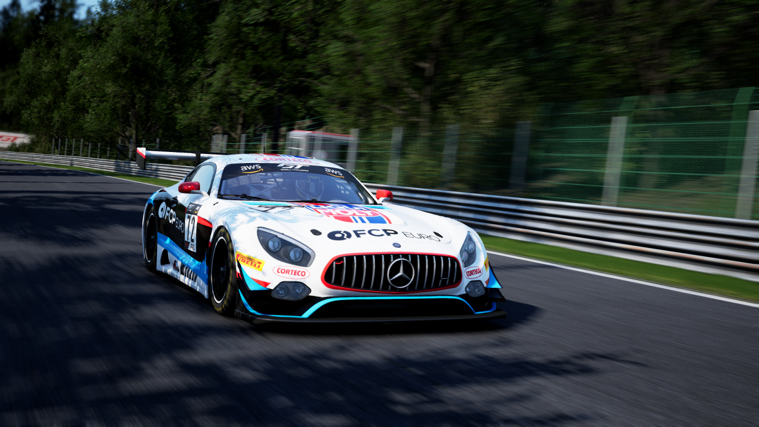 Nürburgring Hosts Season Opener of FCP Euro GT World Challenge America Esports Championship