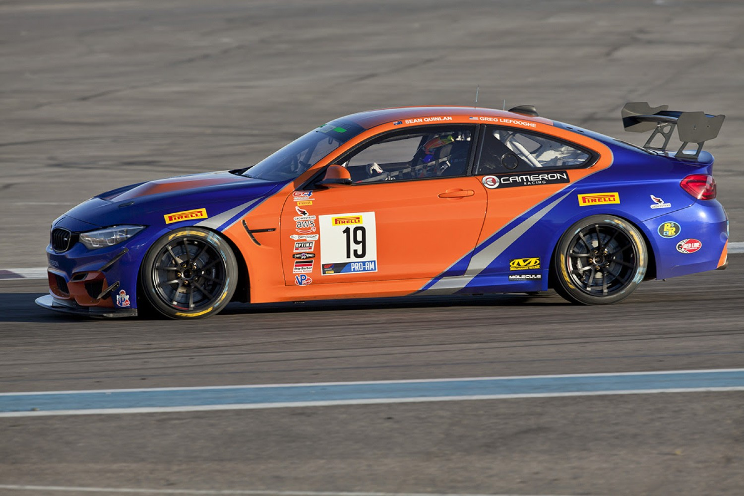 2019 Sprint X Champions Cameron Racing Returns to Pirelli GT4 America Program
