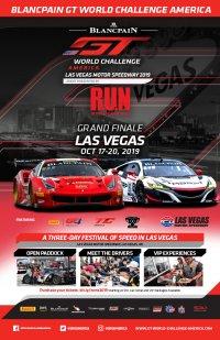 Las Vegas Motor Speedway Poster