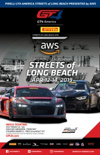 Streets of Long Beach Poster