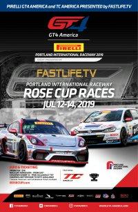 Portland International Raceway Poster